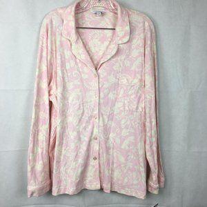 Charter Club Pajama Set Pink Floral Sz XXL NWT $50